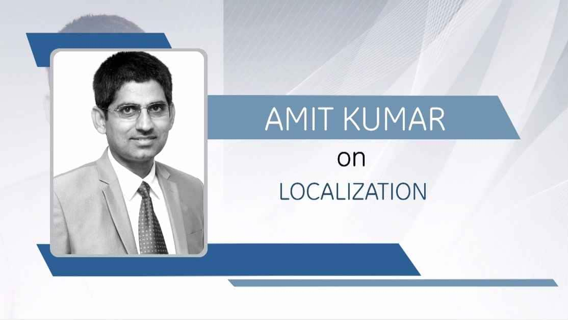 GE Step Ahead : Amit Kumar on Localization