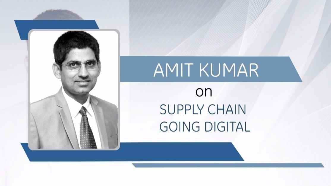 GE Step Ahead : Amit Kumar on supply chain going digital