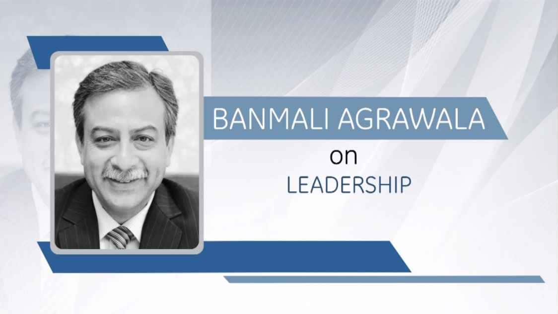 GE Step Ahead : Banmali Agrawala on Leadership