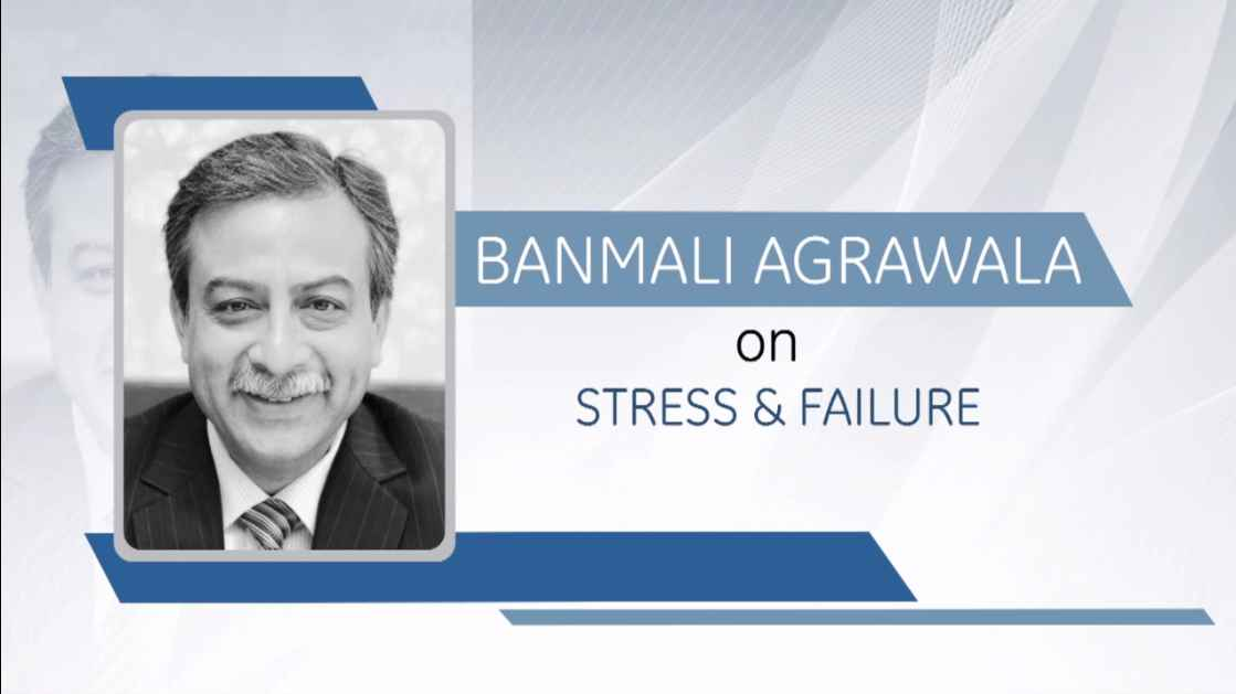 GE Step Ahead : Banmali Agrawala on Stress & Failure