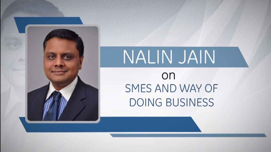 GE Step Ahead : Nalin Jain on SMEs in India